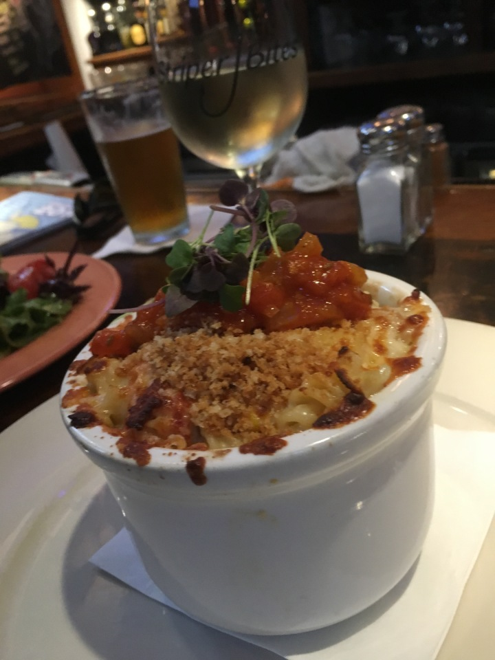 Yes, we eat at SB a lot! This lobster mac and cheese is the best around, although it's been taken off the summer menu. Hope it's back in the fall!